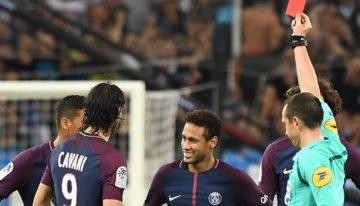 Neymar suspendu un match ferme et un avec sursis pour son exclusion à Marseille