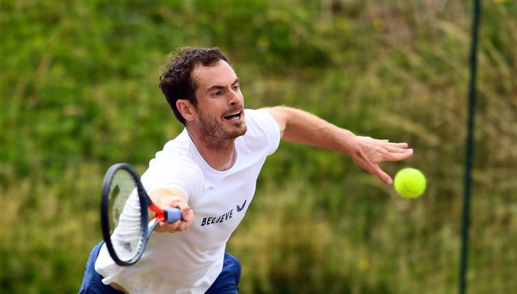 Andy Murray en pratique