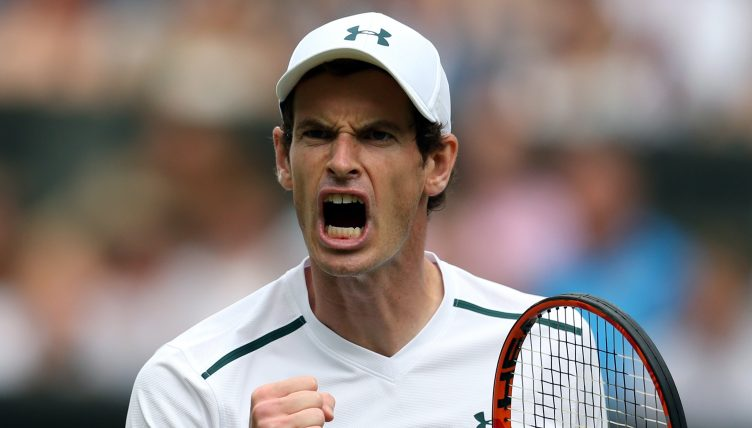Andy Murray crier