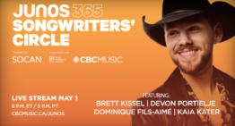 COVID-19 : CBC Gem diffusera en streaming numérique l'événement du Cercle des auteurs de chansons Junos 365