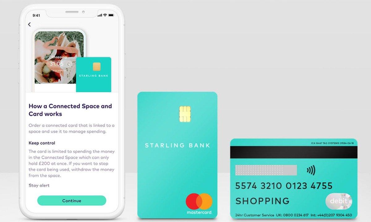 La Starling Bank lance une nouvelle option de carte de débit de rechange pour aider ceux qui s'isolent