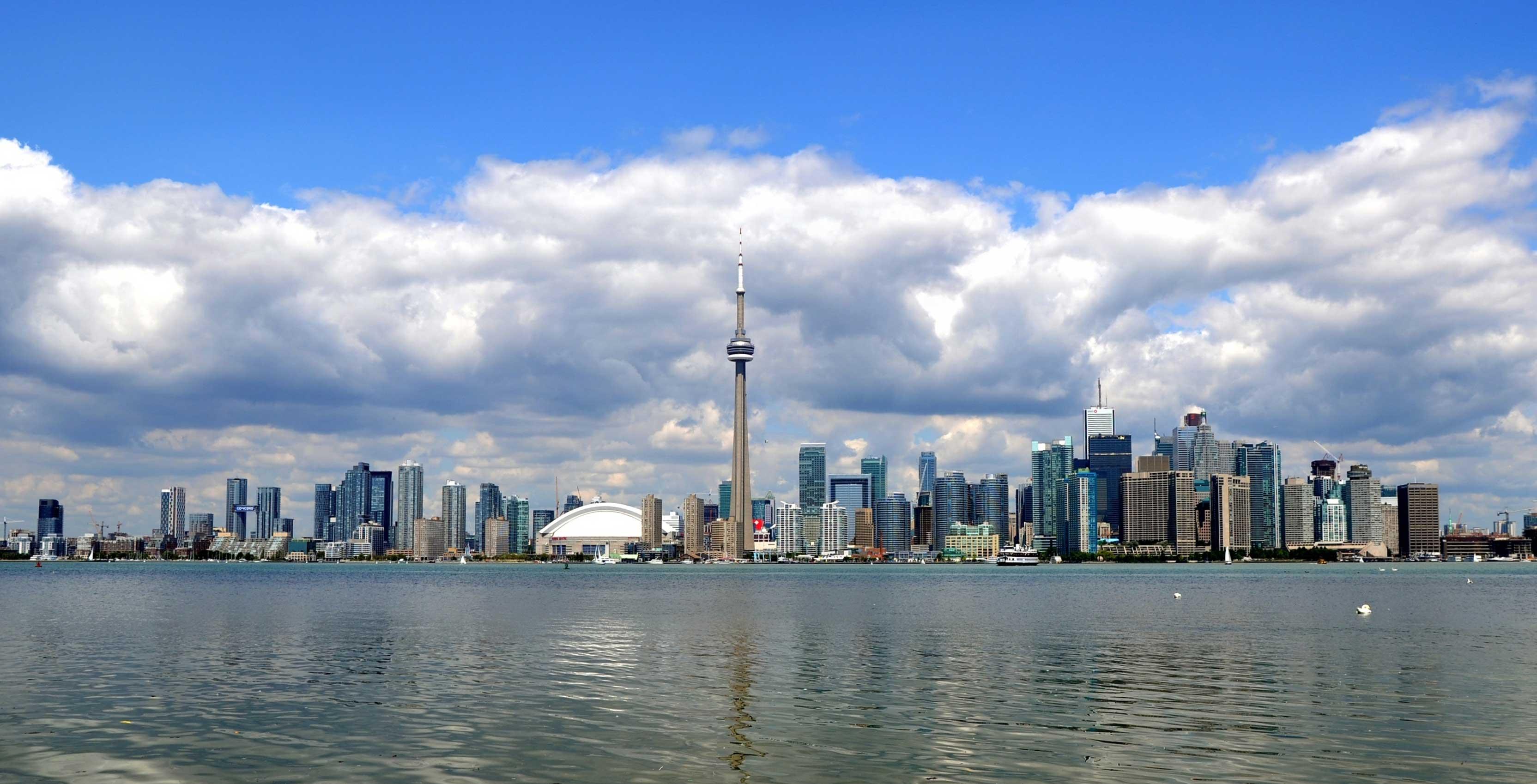 Ville de Toronto en journée