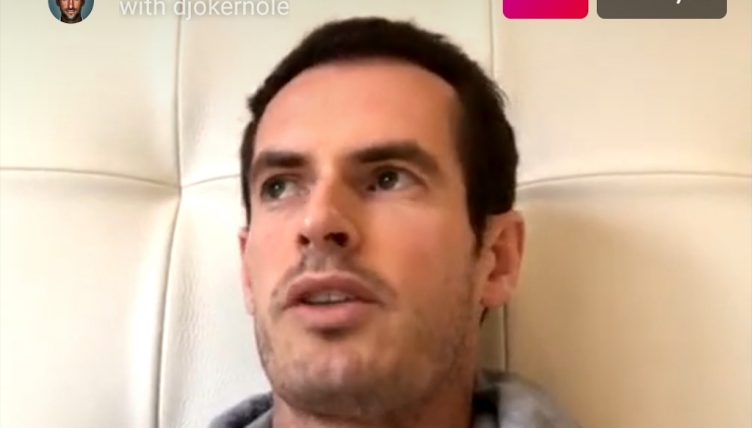 Andy Murray Live Instagram Chat