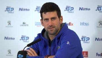 """Novak Djokovic s'oppose à la vaccination obligatoire contre le Covid-19 : """"Je ne voudrais pas être obligé de la prendre""""."""