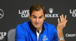 """Roger Federer sur la reprogrammation de la Laver Cup : """"Décevant, mais c'est la bonne chose à faire""""."""