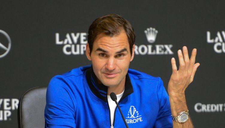 Conférence de presse de Roger Federer Laver Cup