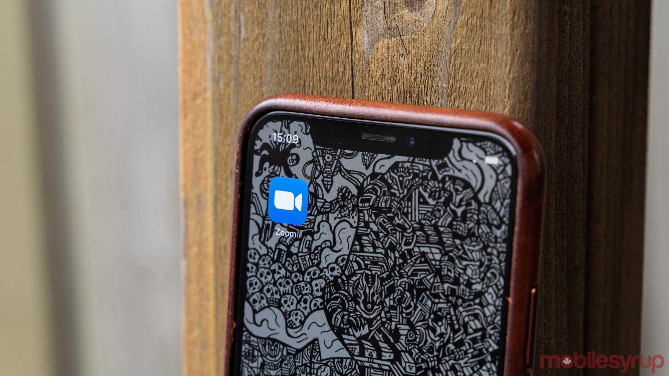 Icône de zoom sur l'iOS