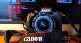 Canon permettant à certaines caméras d'être utilisées comme webcams