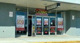 La moitié des grands magasins devraient fermer d'ici 2021