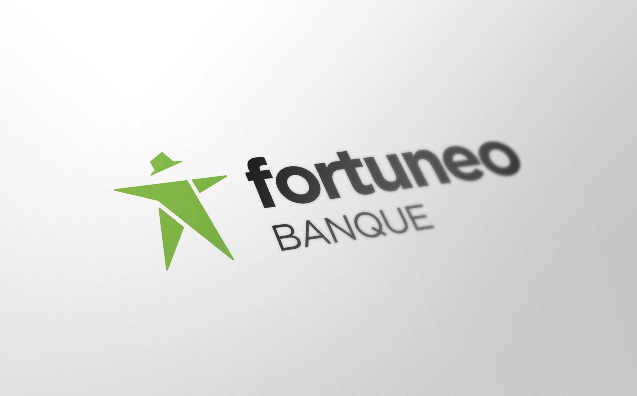 Le logo de Fortuneo Banque